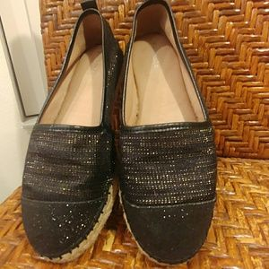 Nurture by Lamaze, cushioned sparkly loafers flats